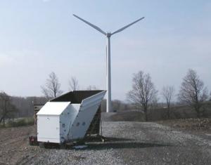 SODAR and Wind Turbine