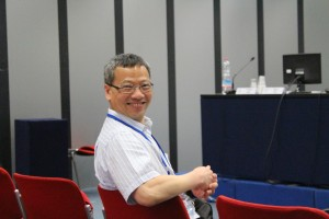 """Prof. Yiu Lam chairing his structured session on """"Analysis, Perception and Render of 3D Spatial Sound"""""""