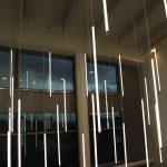 Lights in Atrium