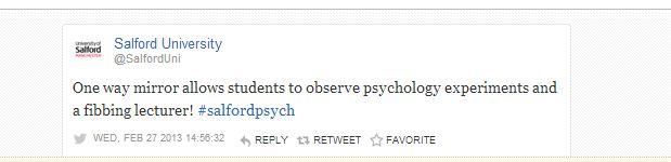 tweets observation