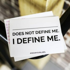 does not define me